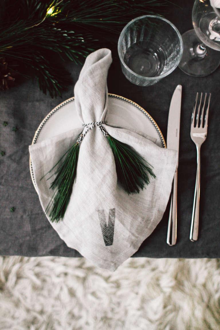 Weihnachtstisch Dekorieren Diy Ideen Weihnachtsdeko Tischdekoration Nachhaltig Paulsvera 29