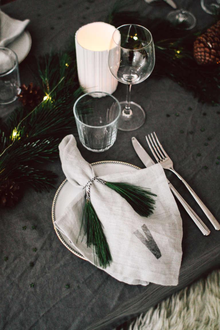 Weihnachtstisch Dekorieren Diy Ideen Weihnachtsdeko Tischdekoration Nachhaltig Paulsvera 32