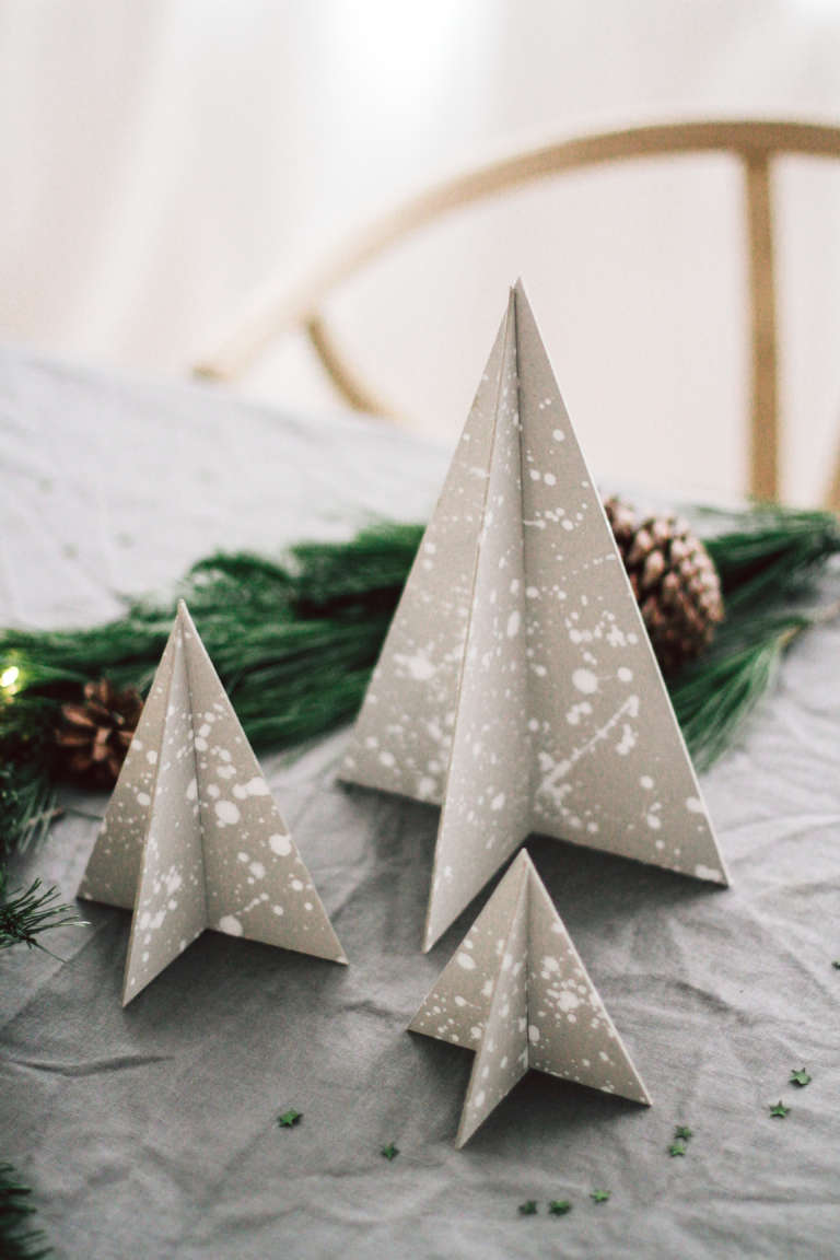 Weihnachtstisch Dekorieren Diy Ideen Weihnachtsdeko Tischdekoration Nachhaltig Paulsvera 35