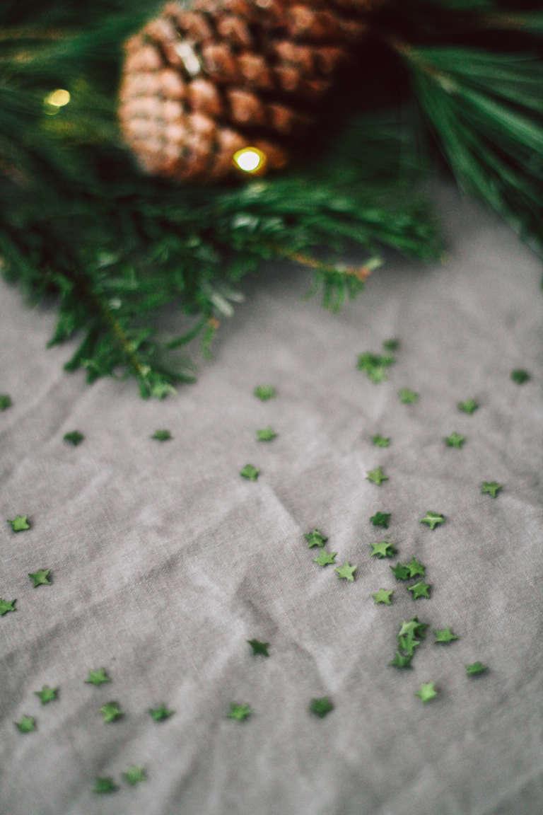Weihnachtstisch Dekorieren Diy Ideen Weihnachtsdeko Tischdekoration Nachhaltig Paulsvera 42