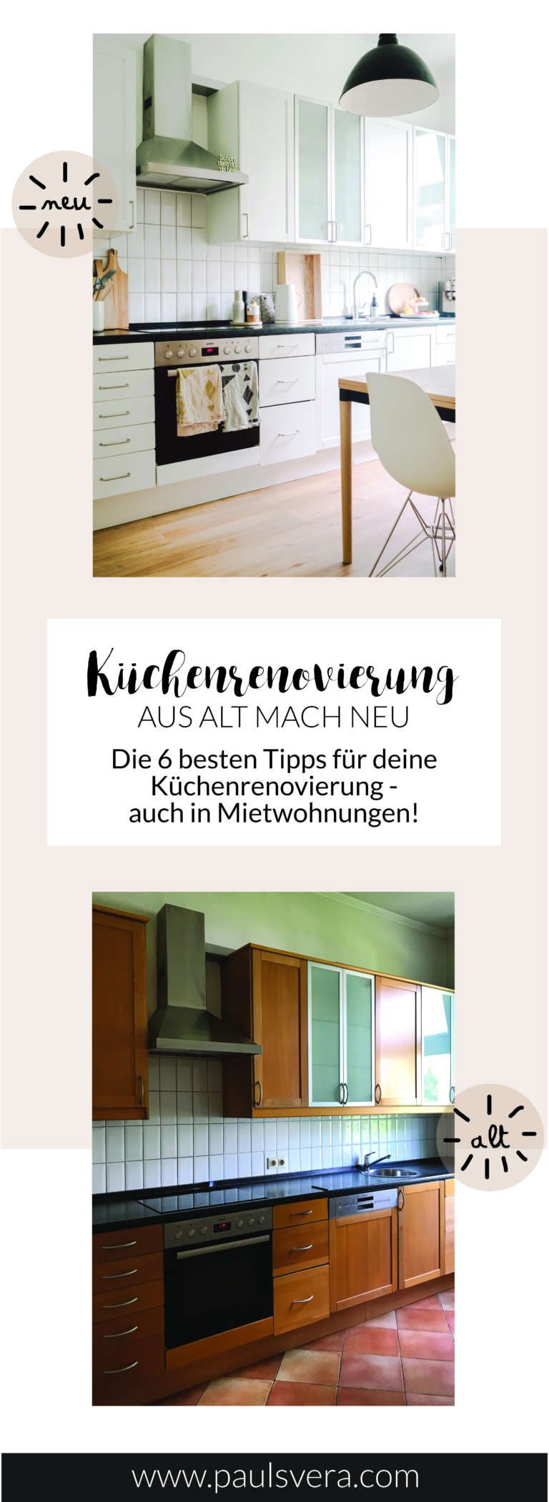 k chenrenovierung aus alt mach neu paulsvera. Black Bedroom Furniture Sets. Home Design Ideas
