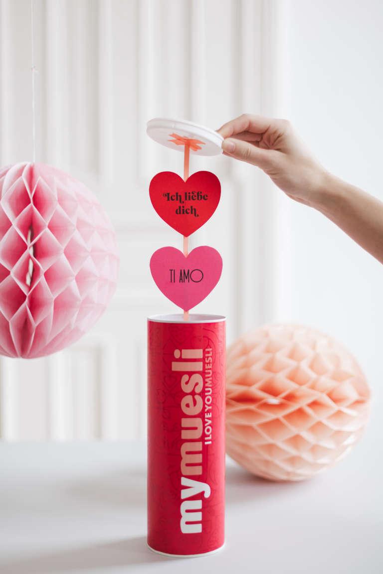Mymuesli Valentinstagsdose Diy Upcycling Idee Nachricht Box 1 3