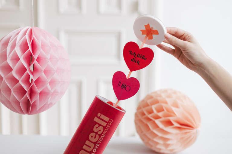 Mymuesli Valentinstagsdose Diy Upcycling Idee Nachricht Box 2